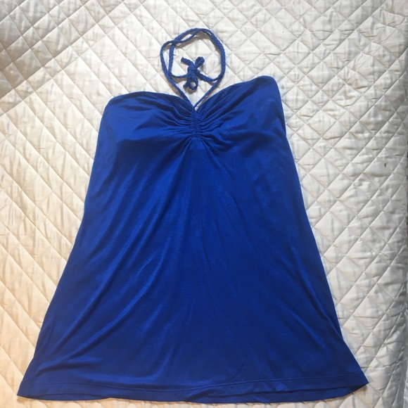 Old Navy Tops - Free with any purchase NWT Old Navy Blue Halter